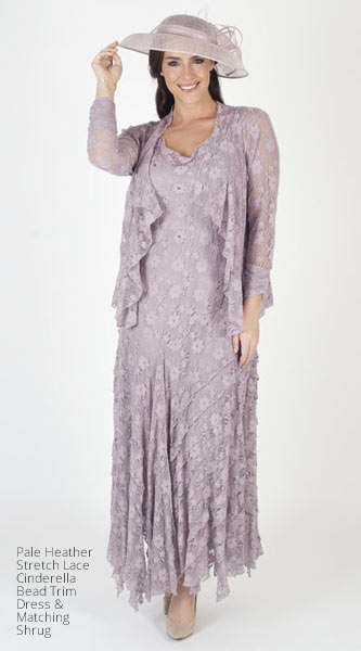 c28f609067a56 Gorgeous plus size mother of the bride outfits available at Chesca. Floaty  chiffon